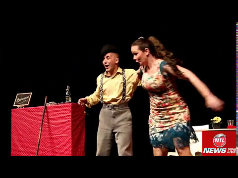 French Circus Magic Show and Comedy Play all in one