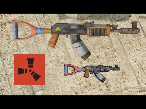 Rust Tips: How to Control Recoil on the Assault Rifle (AK-47)