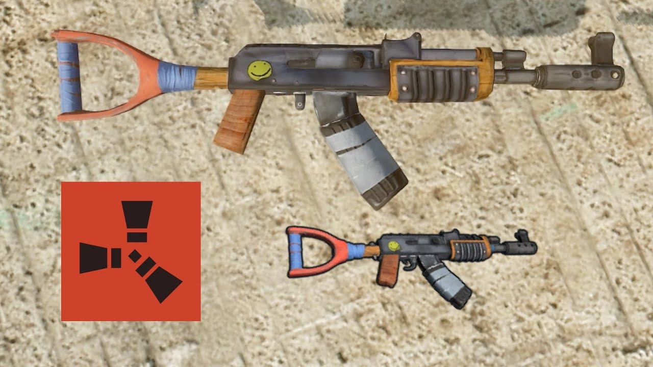 How To Stop Rust >> Rust Tips: How to Control Recoil on the Assault Rifle (AK-47) - YouTube
