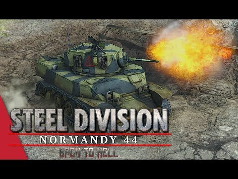 Chickendew's ET Round 2! Steel Division: Normandy 44 - Walther vs Dremora (Cheux, 1v1)