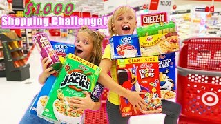 Payton's 1000 Shopping Challenge! Real Littles in Real Life