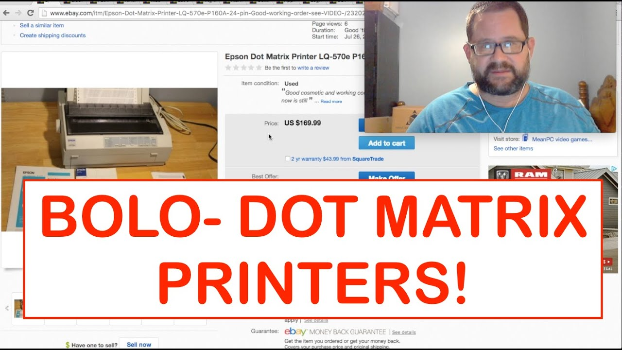 Best selling items on ebay reviews find out what sells best on ebay - What I Sold On Ebay And Amazon Fba A Bolo Dot Matrix Printers