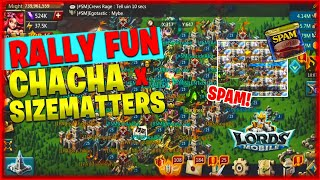 Lords Mobile ChaCha - SizeMatters Rally Fun