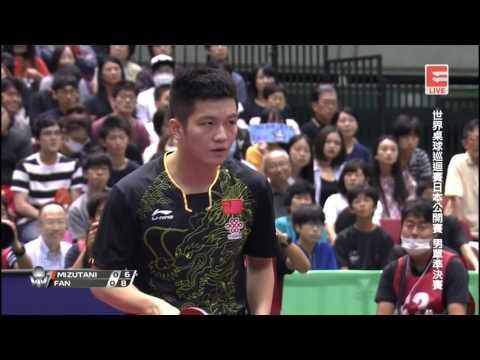 2017 Japan Open (MS-SF) 水谷 隼 MIZUTANI Jun Vs FAN Zhendong 樊振东 [Full Match/Chinese HD1080p]