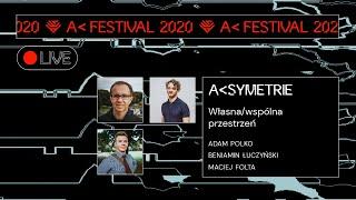 A SYMETRIE: własna/wspólna przestrzeń | Beniamin Łuczyński, Maciej Folta, Adam Polko