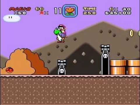 Download Classic Mario World 1 - The Magical Crystals (SMW