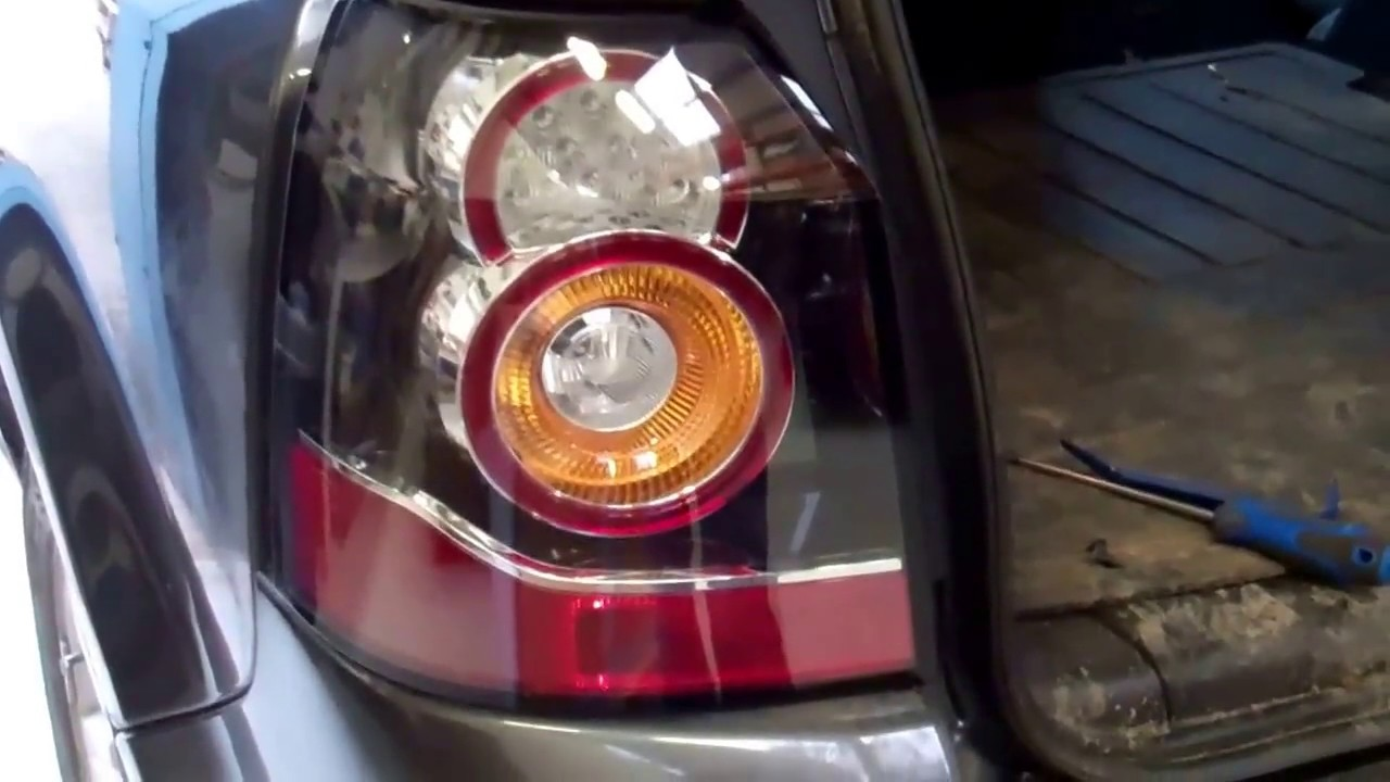 How To Upgrade Freelander 2 Lr2 To New Type Led Rear