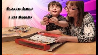 ROBLOX CLASSICS ALL SERIES 1 FIGURES SET UNBOXING OPENING TOY REVIEW