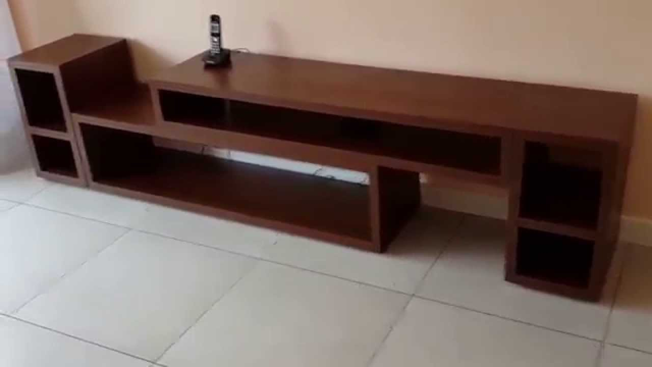 Mueble De Cocina Nogal Habano : Rack lcd nogal habano extensible fabrica en villa