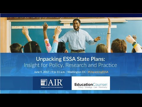 Unpacking ESSA State Plans: Insights for Policy, Research, a