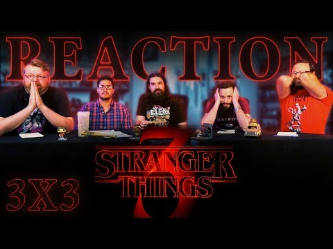 """Stranger Things 3x3 REACTION!! """"Chapter Three: The Case of the Missing Lifeguard"""""""