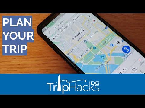 Use Google MY MAPS To Plan A Trip