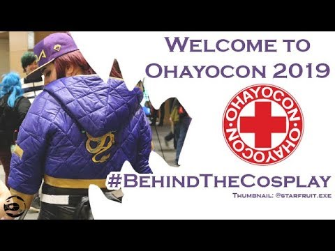 WELCOME TO OHAYOCON 2019 #BEHINDTHECOSPLAY COSPLAY MUSIC VIDEO ANIME COMIC CON  COLUMBUS OHIO VLOG