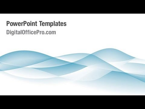 waves powerpoint templates