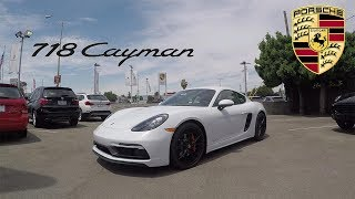 POV Test Drive | 2018 Porsche 718 Cayman GTS