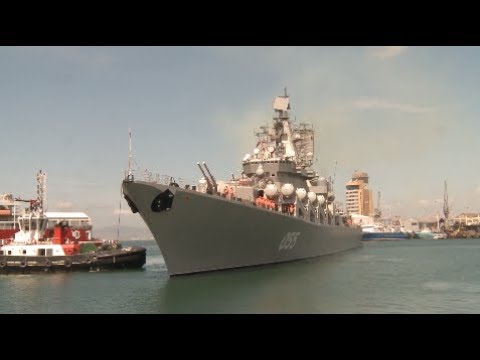 China's Guided Missile Frigate Arrives in South Africa to ...