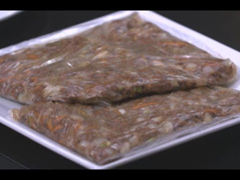 تجهيزات السفر - تشويح اللحمه وكفتة الارز ولحمه معصجه بالكرفس الشيف نونا | البلدي يوكل PNC FOOD