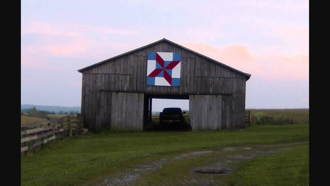 Kentucky Barn Quilts Wmv Youtube