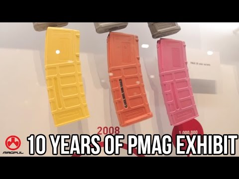 10 Years Of The Magpul PMAG Exhibit | SHOT 2017