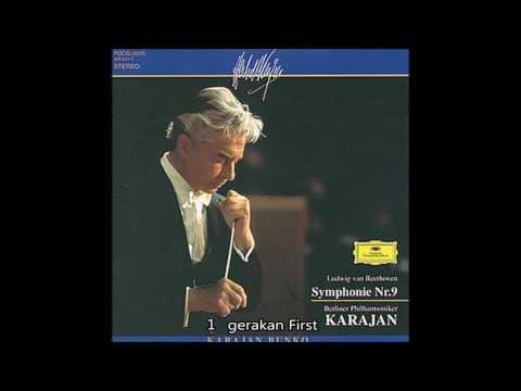 "Beethoven - Symphony No.9 D minor Op.125 ""Choral"" Karajan Berlin Philharmonic Orchestra 1962"
