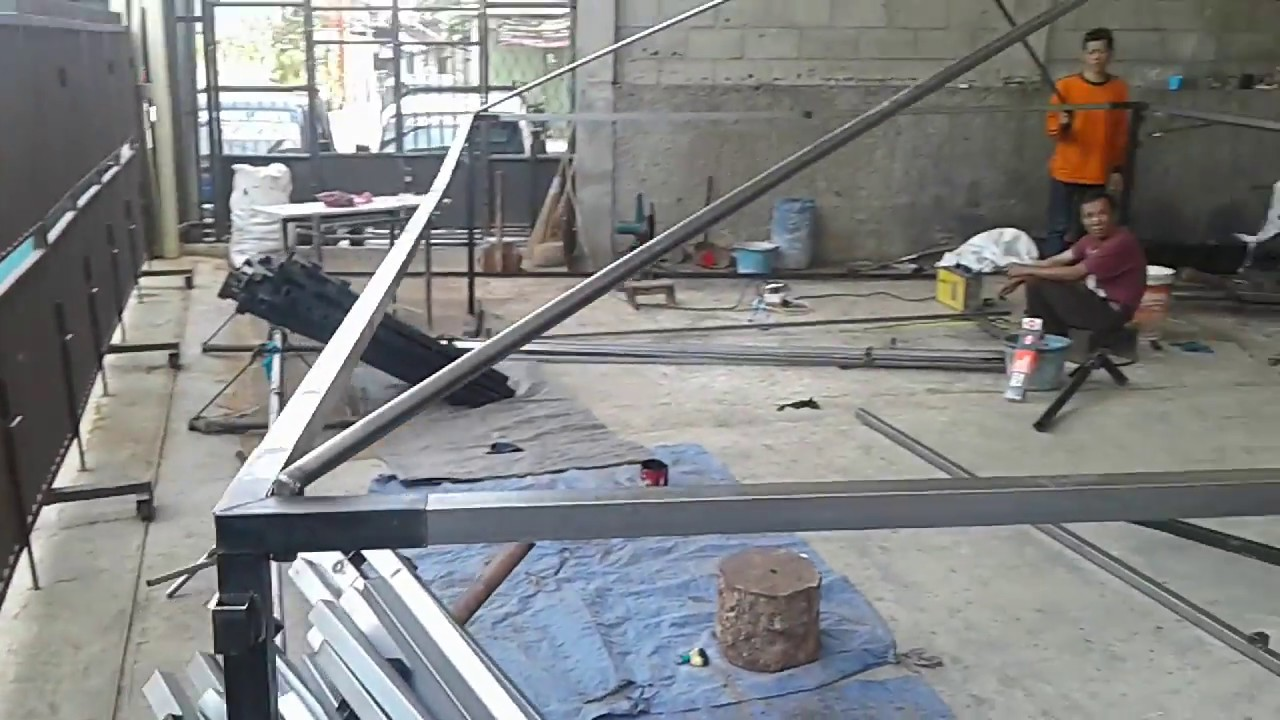 Tenda Lipat 2x3 Tenda Besi 2 X 3 Meter 0 4mm Jualan Bazar