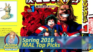 Spring 2016: MAL's Most Anticipated Anime - Anime Summit