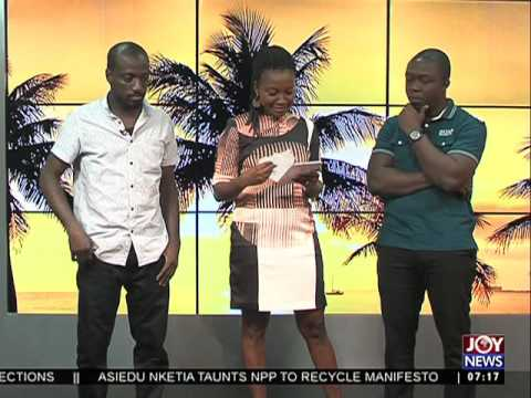 Ghana Theatre Festival - AM Show on Joy News (30-9-16)