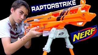 Review of the Nerf N-Strike Elite AccuStrike RaptorStrike with Robert-Andre + GIVEAWAY!
