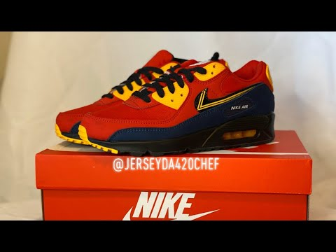 LSCD's Preview & Review: Air Max 90 City Pack: London - YouTube
