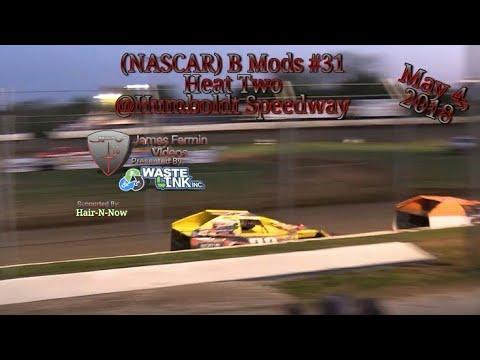 (NASCAR) B Mods #31, Heat 2, Humboldt Speedway, 05/04/18