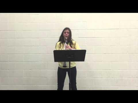 Cheyenne Cruz, Clarinet- Kovacs Hommage a Strauss