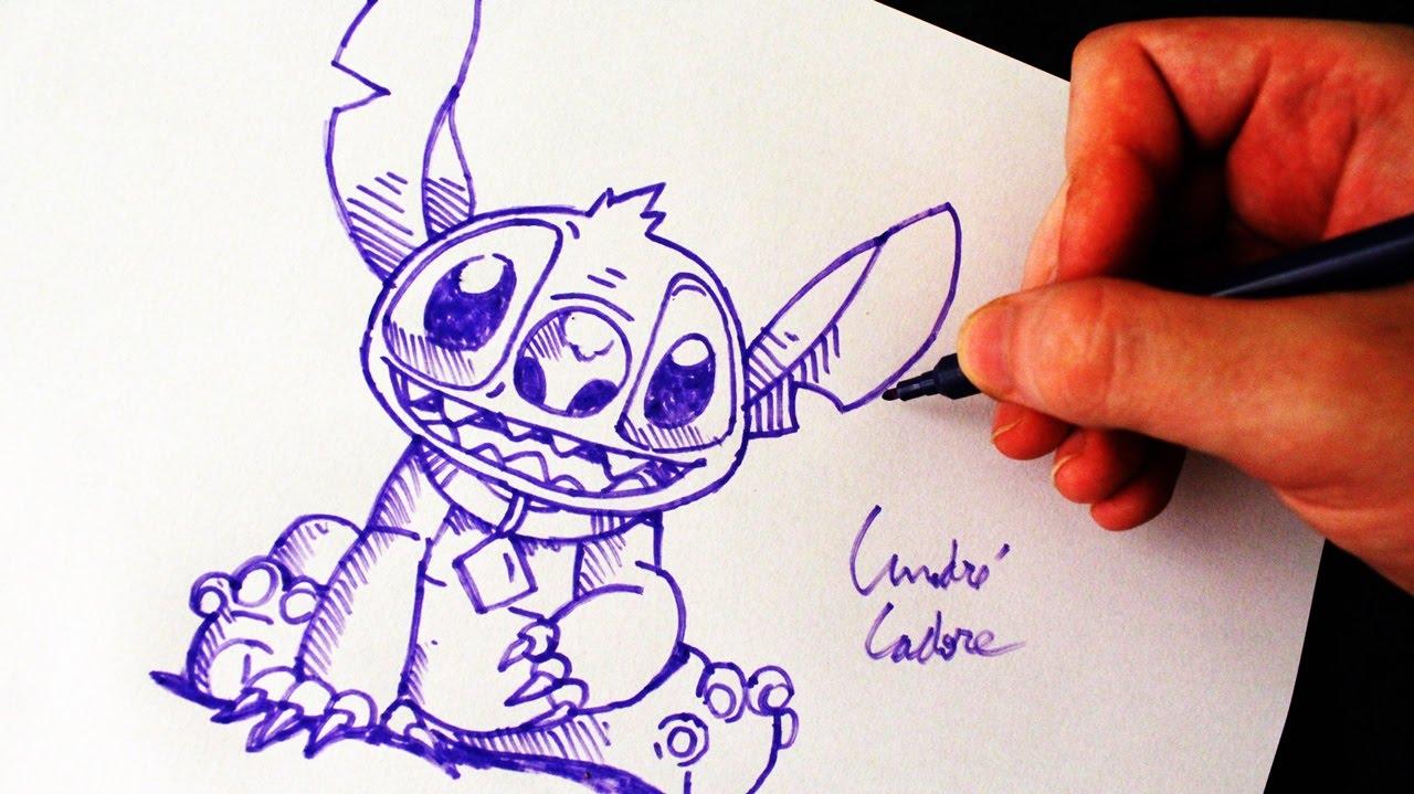 como desenhar o stitch lilo stitch how to draw stitch slay