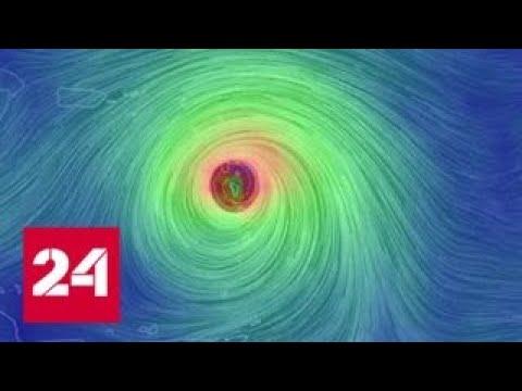 Смотреть Мощный ураган