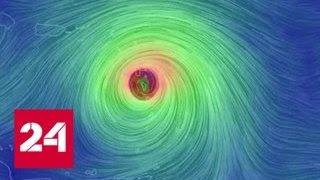 Мощный ураган  Мария  идет по следам  Ирмы    Россия 24
