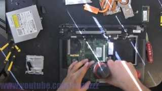 HP COMPAQ NW8440 take apart video, disassemble, howto open (nothing left) disassembly disassembly