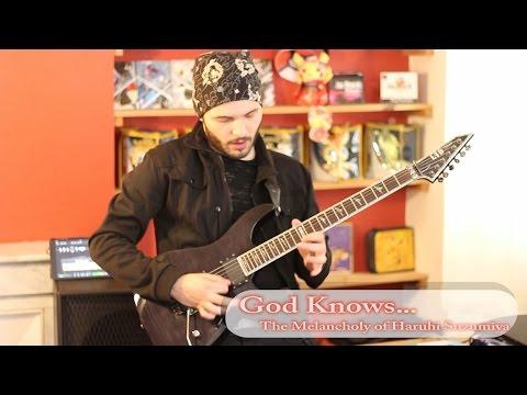 God Knows... - The Melancholy Of Haruhi Suzumiya (Guitar Cover)