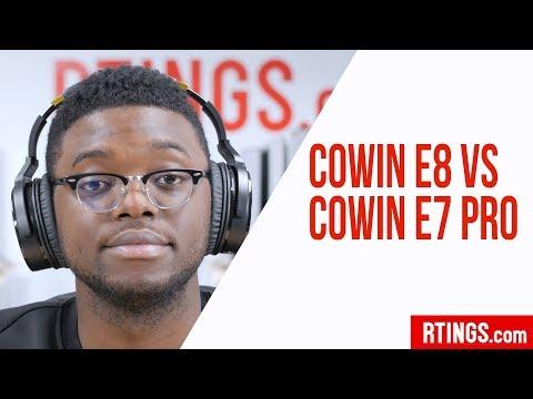 Cowin E8 Vs Cowin E7 Pro Headphones Review - RTINGS.com