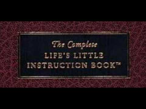 Quotes From Lifeu0027s Little Instruction Book   YouTube
