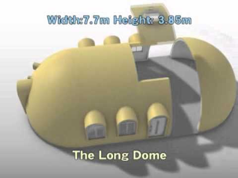 Styrofoam Dome international dome house - 3. models - youtube