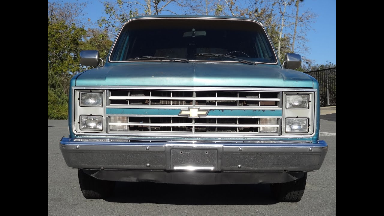1985 Chevy Suburban For Sale  3524 ATL