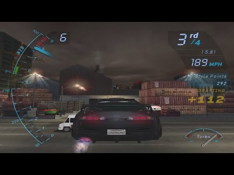 The Classics: Need for Speed: Underground Part 16 - Moving Up Toyota Supra