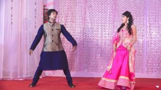 Wedding dance performance by Abhavya & Prateek