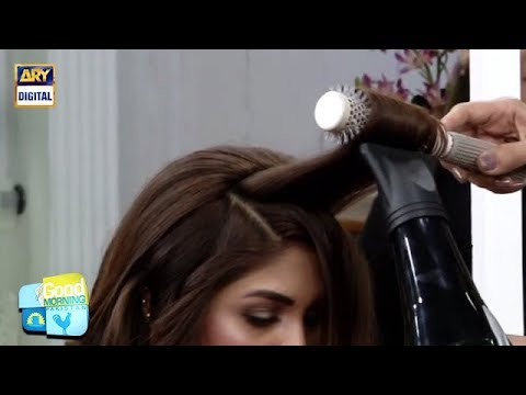 How to blow dry your hair properly