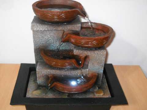 Fuente de agua feng shui grande con luz 39 x 31 youtube - Fuente de agua feng shui ...