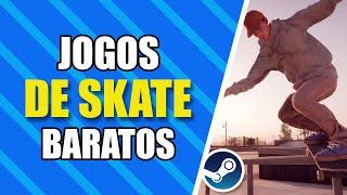 Jogos de Skate Baratos na Black Friday da Steam 2019! (Promoção de Outono) | Promoções da Steam