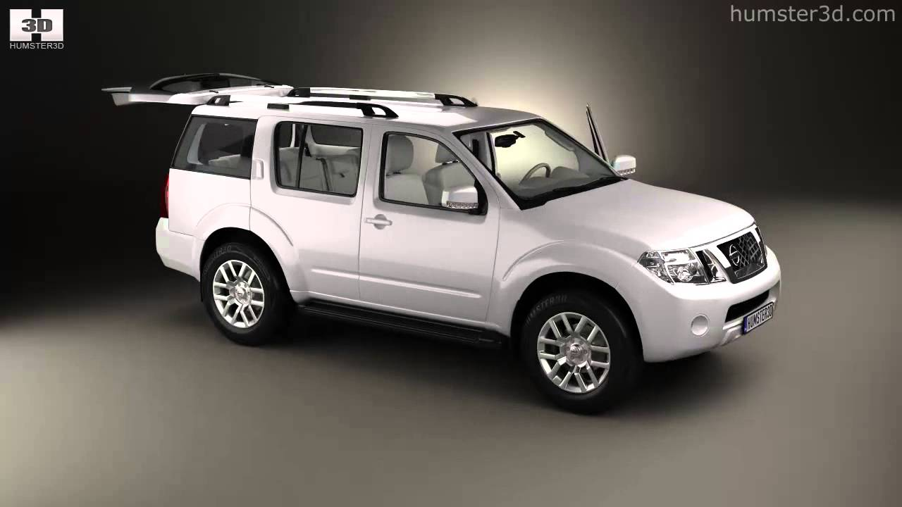 Nissan Pathfinder with HQ interior 2010 by 3D model store