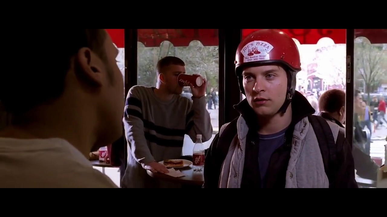 SPIDER MAN 2 SPIDEY'S PIZZA DELIVERY SCENE IN HINDI (HD0