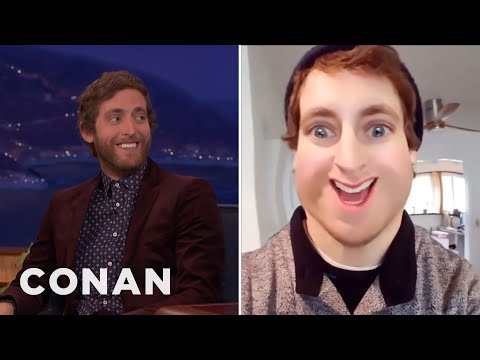 Thomas Middleditch Loves Snapchat Filters  - CONAN on TBS