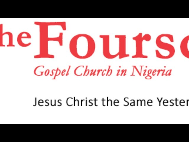 FOURSQUARE GOSPEL CHURCH IN NIGERIA SUNDAY SERVICE 12/7/20