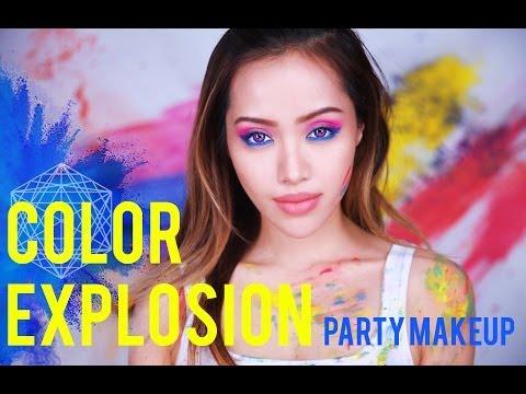 Color Explosion : Party Makeup